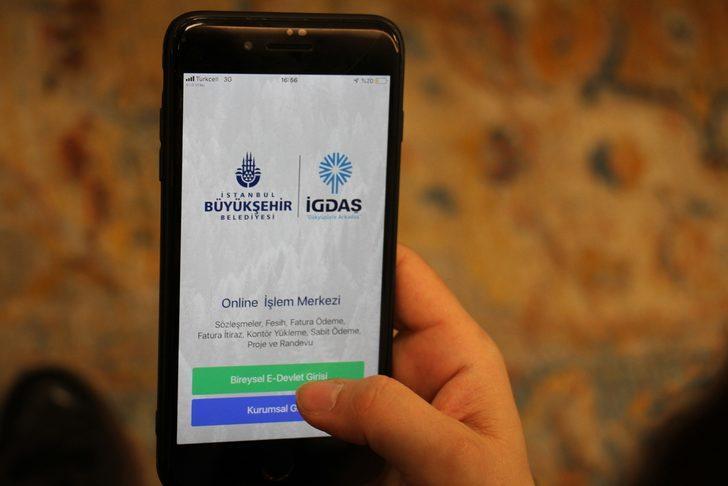 İGDAŞ Mobil Uygulaması vatandaşın hizmetinde