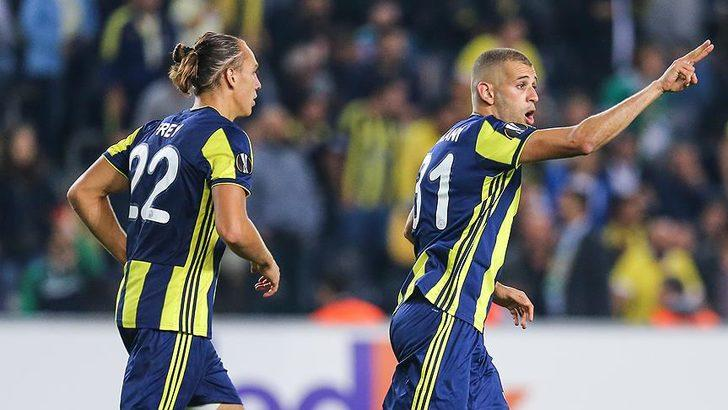 Fenerbahçe'de kiralık oynayan Islam Slimani ile görüşmelere başlandı