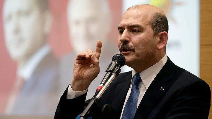Bakan Soylu'dan, CHP'li Muharrem Erkek hakkında suç duyurusu