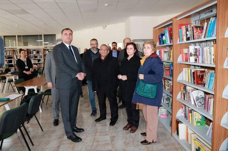 İrem Kütük Kütüphanesi'ne hüzünlü açılış