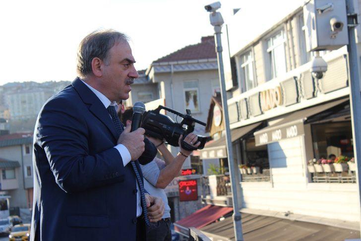 BTP İstanbul Adayı Kotil Eyüpsultan'da konuştu