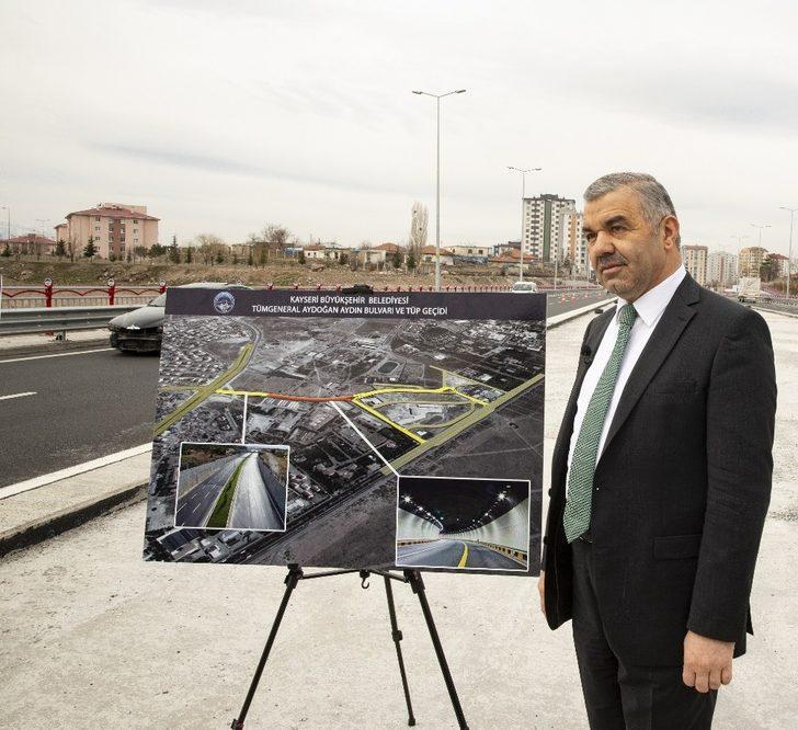Başkan Çelik, Kayseri'nin ilk tüp geçit projesini basına ve kamuoyuna tanıttı