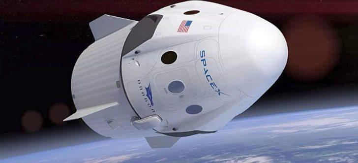SpaceX'in Crew Dragon kapsülü öncü olacak