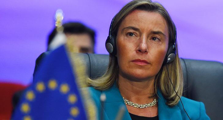 Mogherini: Türkiye'deki Mülteciler için Mali Yardım Programı kapsamında Ankara'ya 1.5 milyar euro göndereceğiz