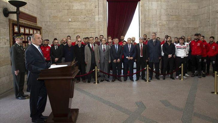 Gençlerbirliği 96. yıl dönümünü kutladı