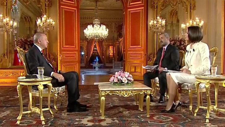 Cumhurbaşkanı Erdoğan'dan canlı yayında önemli açıklamalar