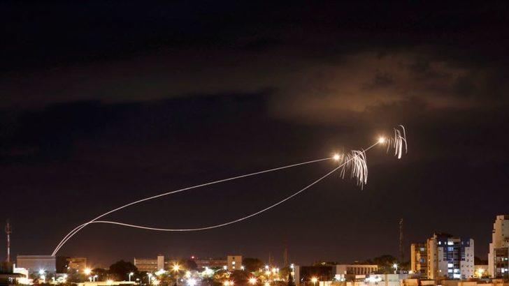 Gazze'den Tel Aviv'e Roket Atıldı