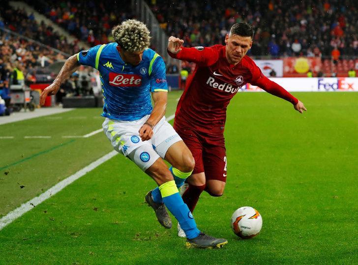 Salzburg: 3 - Napoli: 1 İlk maç: (0-3)