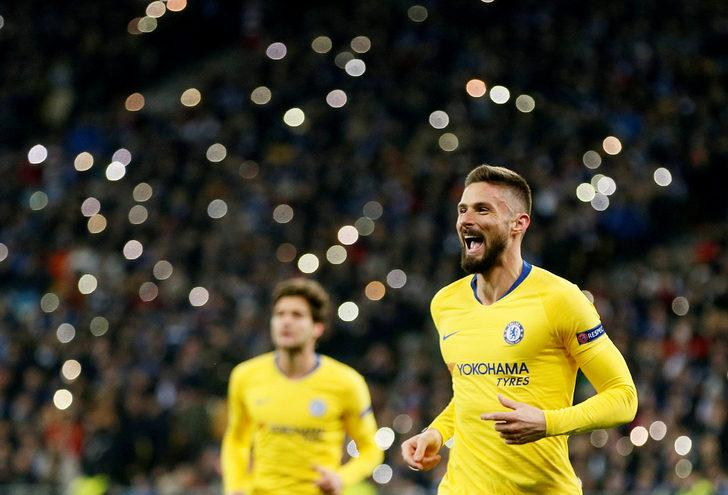 Dinamo Kiev: 0 - Chelsea: 5 İlk maç: (0-3)