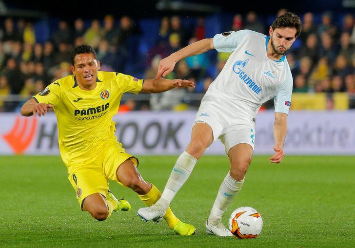 Villarreal: 2 - Zenit: 1 İlk maç: (3-1)