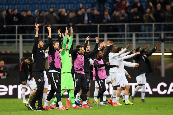 Inter: 0 - E. Frankfurt: 1 İlk maç (0-0)