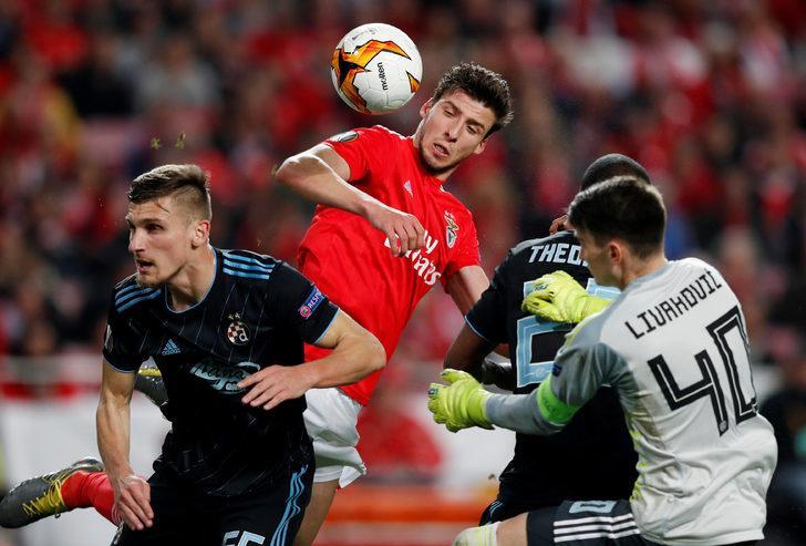 Benfica: 3 - Dinamo Zagreb: 0 İlk maç (0-1) (Uzatmalar)