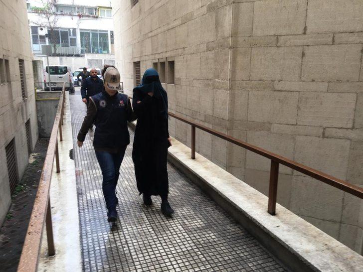 'Kırmızı bülten' ile aranırken Bursa'da yakalanan DEAŞ'lı kadın terörist adliyede