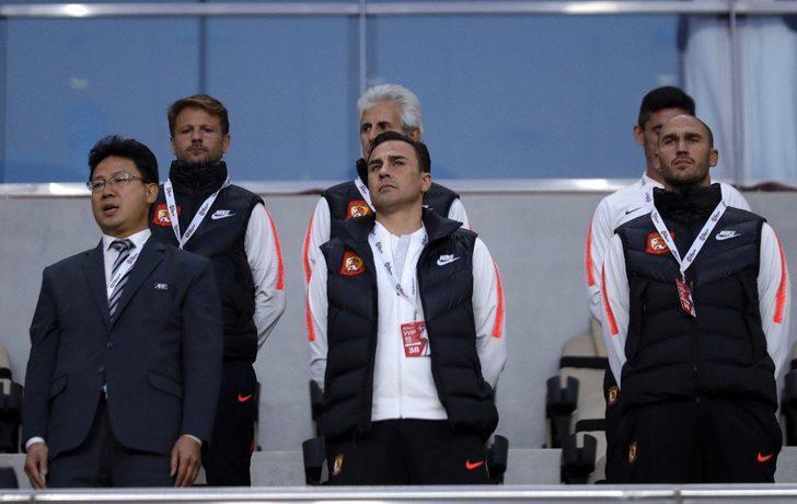 Fabio Cannavaro, Çin Milli Futbol Takımı'nın teknik direktörü oldu