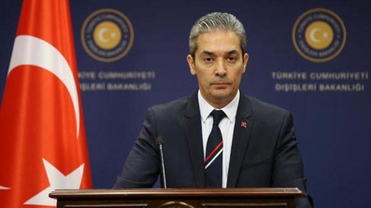 Türkiye'den Yunanistan'ın Ege açıklamalarına tepki