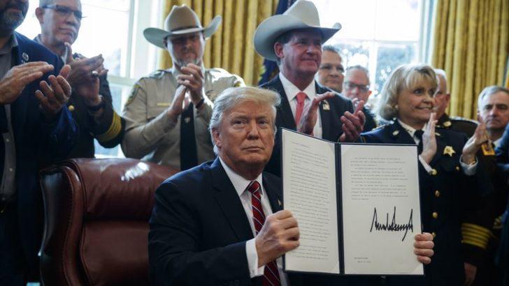 Trump'tan İlk Veto