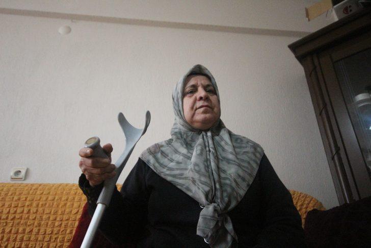 Ameliyatta vidaları takılmayan kadın sakat kaldı