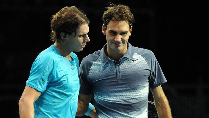 Rafael Federer ile Roger Nadal yarı finalde karşılaşacak