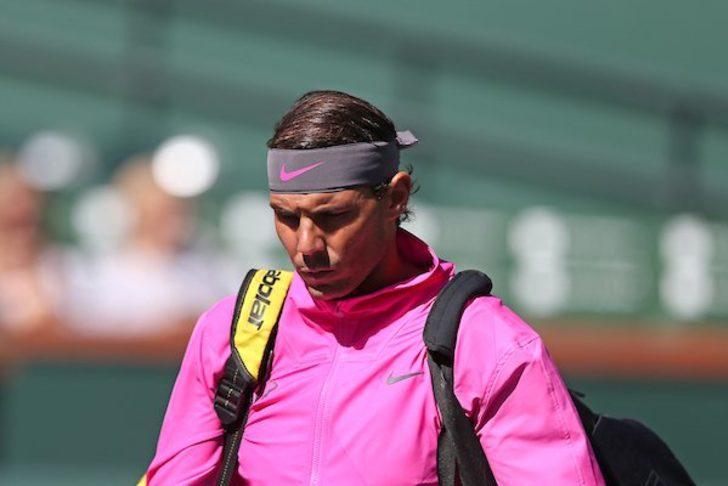 Rafael Nadal, Indian Wells'ten çekildi