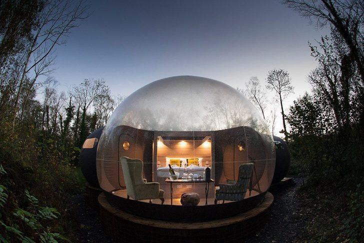 Sıra dışı tatil yapmak isteyenler balon otelleri denediniz mi?