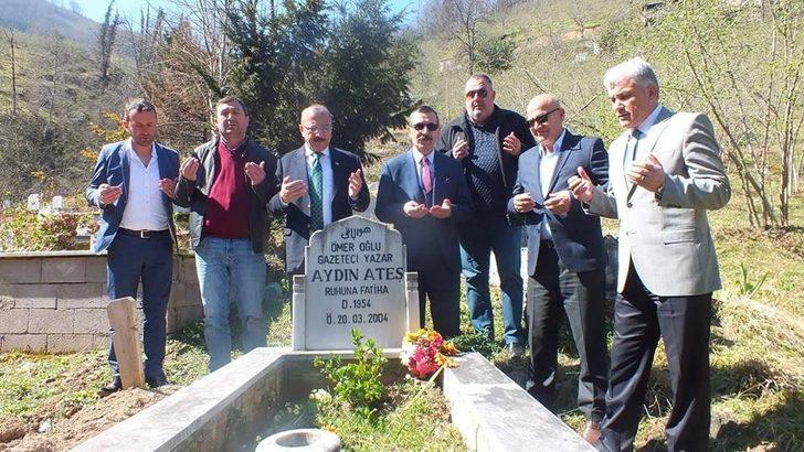 Gazeteci Aydın Ateş anıldı