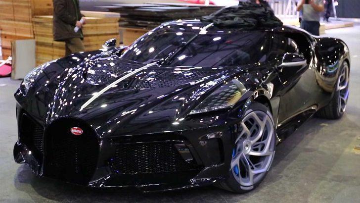 Dünyanın en lüks aracı: Bugatti La Voiture Noire!