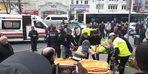 Beyazıt'ta özel halk otobüsü kazası; çok sayıda yaralı var (1)