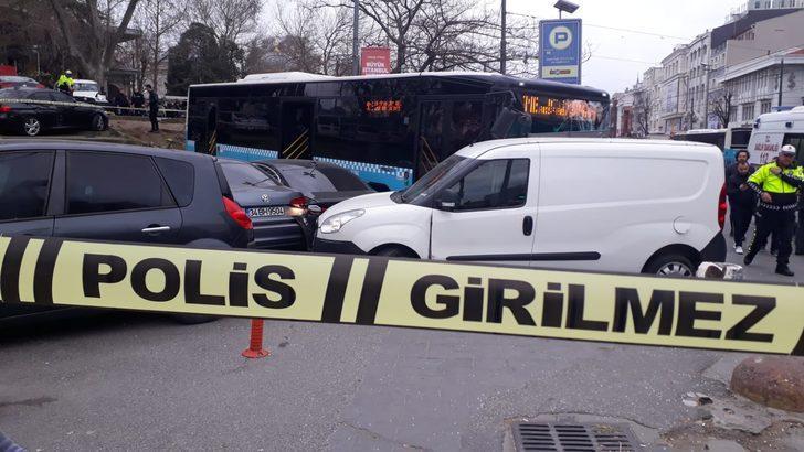 Ek fotoğraf // Beyazıt'ta özel halk otobüsü kazası; çok sayıda yaralı var