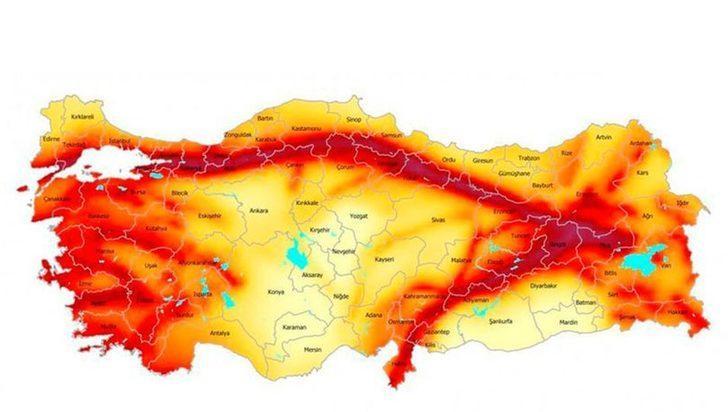 Türkiye Deprem Tehlike Haritası değişti! İşte deprem riski değişen iller