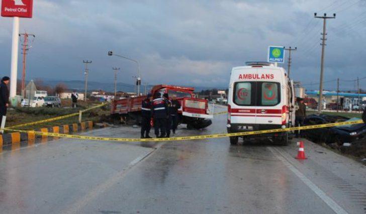 Kastamonu'da korkunç kaza! 3 uzman çavuştan acı haber