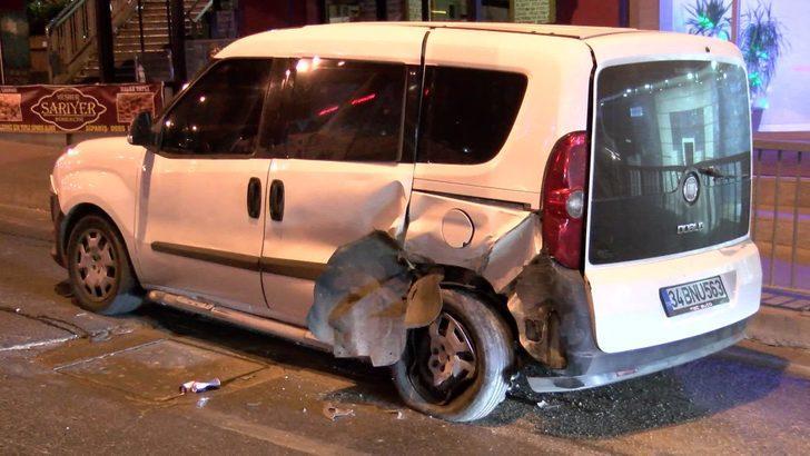 Beylikdüzü'nde otomobil takla attı: 1 yaralı