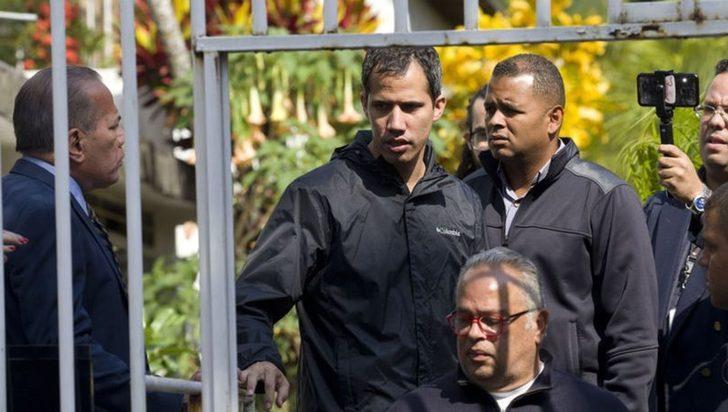 Guaido için 'terör eylemi' iddiası! Kritik isim gözaltında