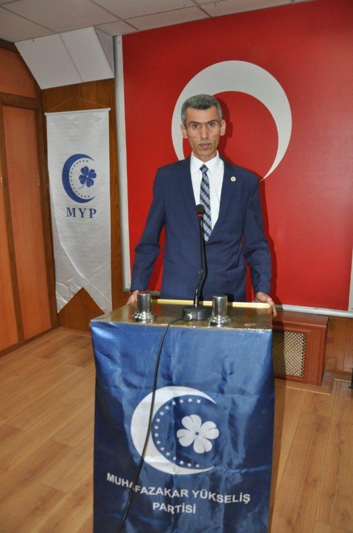 Muhafazakar Yükseliş Partisi Kastamonu Kurucu İl Başkanı Nihat Karataş'tan mesaj