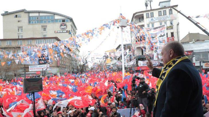 Erdoğan 'Kürt Oyları CHP-İP-SP'ye Peşkeş Çekiliyor'
