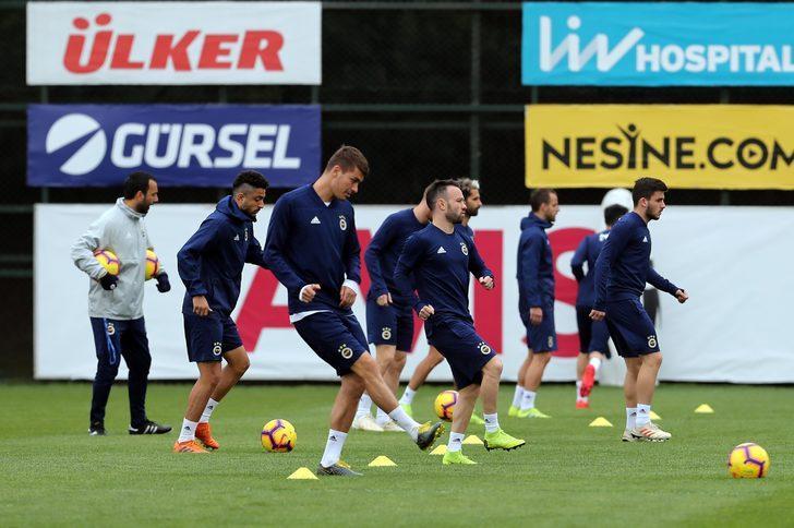 Fenerbahçe Ankaragücü maçının hazırlıklarını sürdürdü