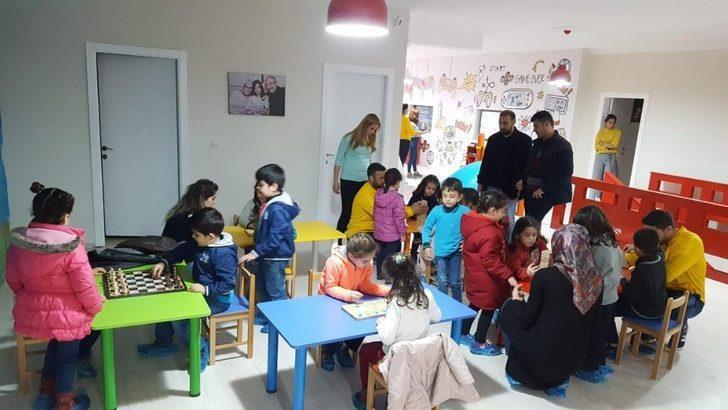 Mardin'de çocuklar için spor ve eğlence merkezi açıldı