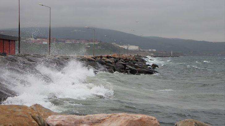Meteoroloji'den Ege'de fırtına uyarısı