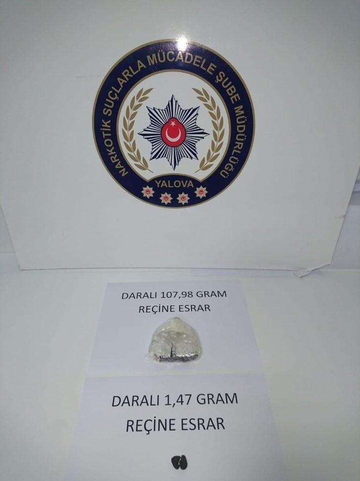 Yalova'da uyuşturucu operasyonu: 34 gözaltı