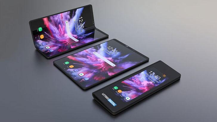 Samsung Galaxy Fold'un videosu yayınladı!