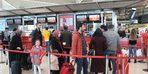 Otogar ve havalimanında seçim hareketliliği