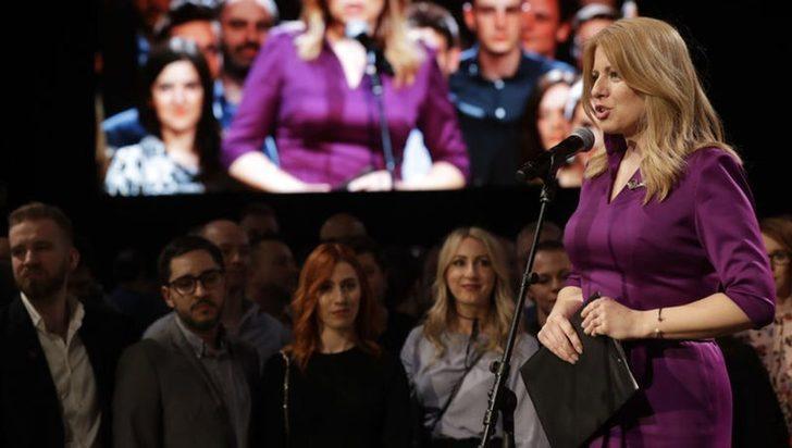 O ülkede ilk kez bir kadın cumhurbaşkanı seçildi