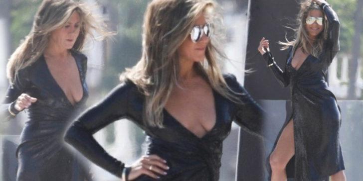Verdiği pozlarla 'bu nasıl 50 yaş' dedirten Jennifer Aniston'dan seksi pozlar