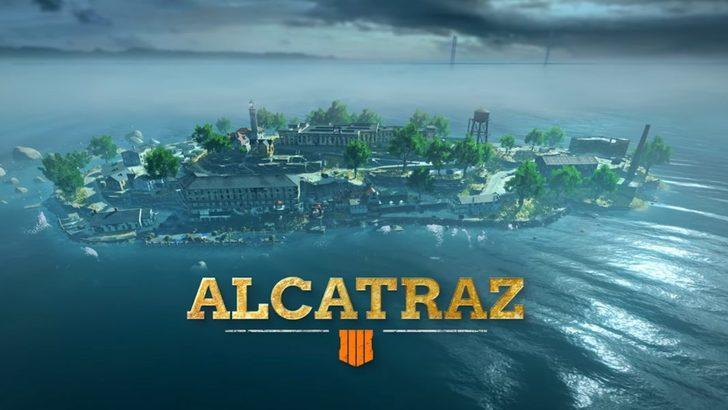 Call of Duty: Black Ops 4 Blackout'un yeni haritası Alcatraz duyuruldu