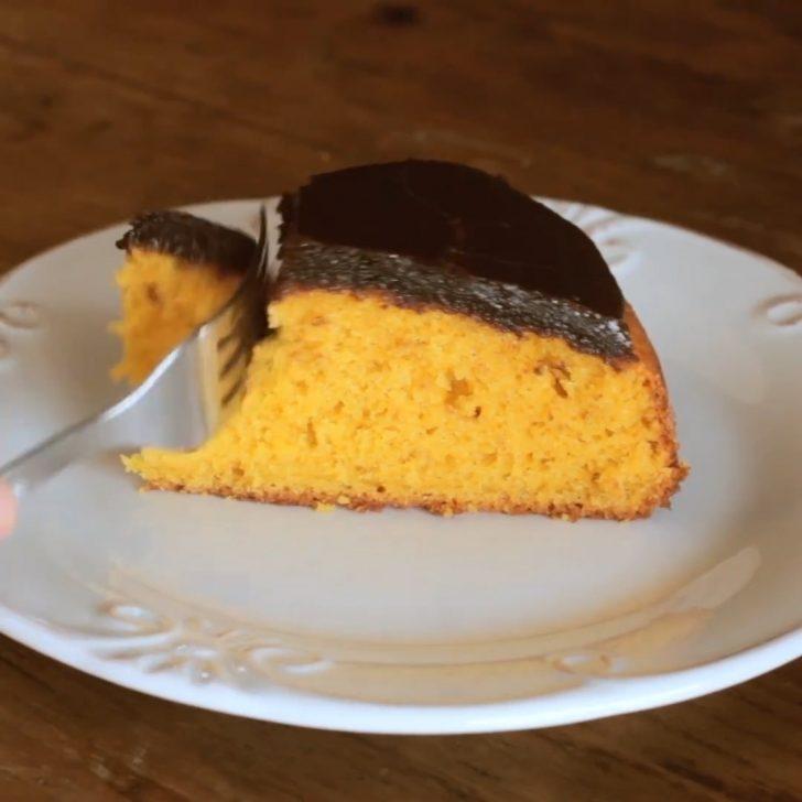 Çikolatalı Havuçlu Kek