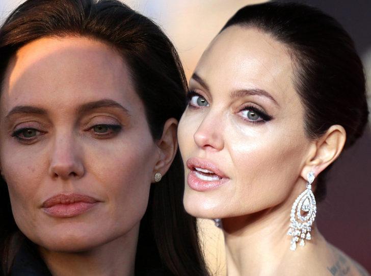 Angelina Jolie bu yüzden hem memelerini, hem de göğüslerini aldırmıştı! Over kanserine dikkat