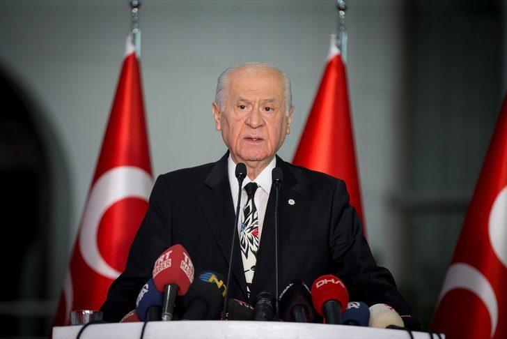 MHP Genel Başkanı Devlet Bahçeli'den İsmail Küçükkaya tepkisi!