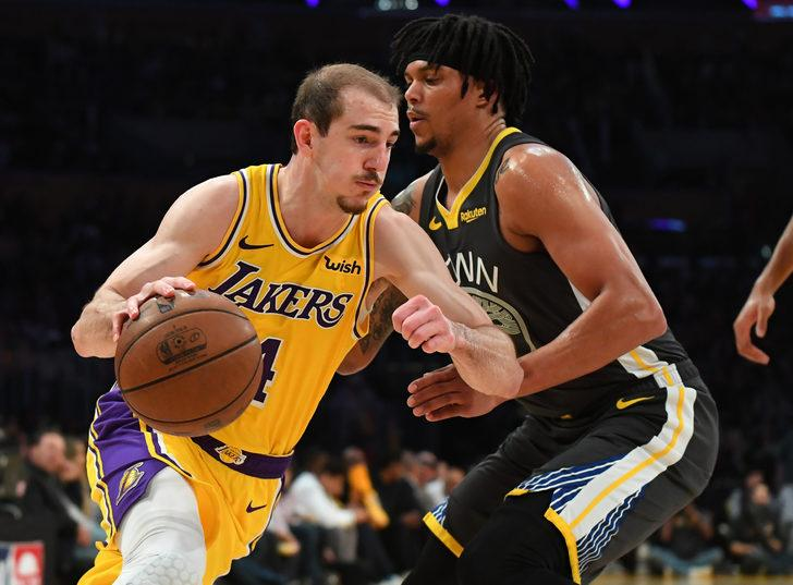Golden State Warriors, deplasmanda Los Angeles Lakers'ı mağlup etti