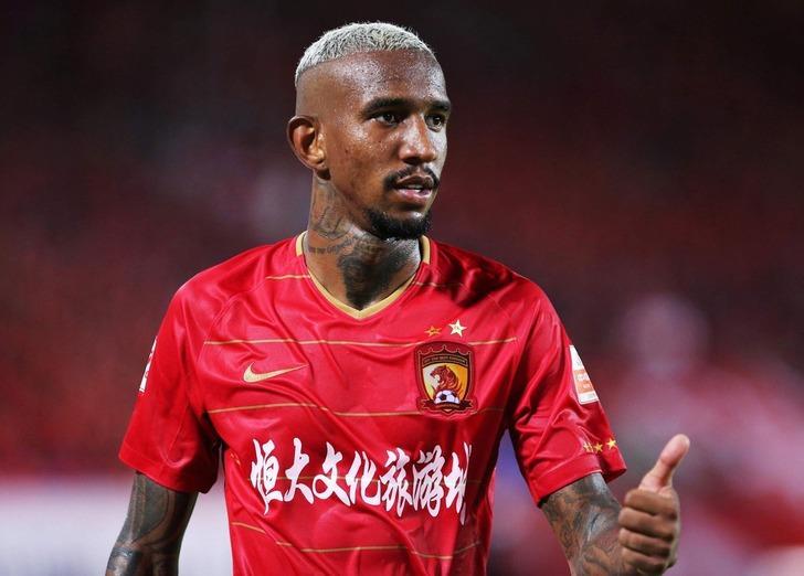 Guangzhou Evergrande - Guangzhou R&F maçında Anderson Talisca 2 gol kaydetti