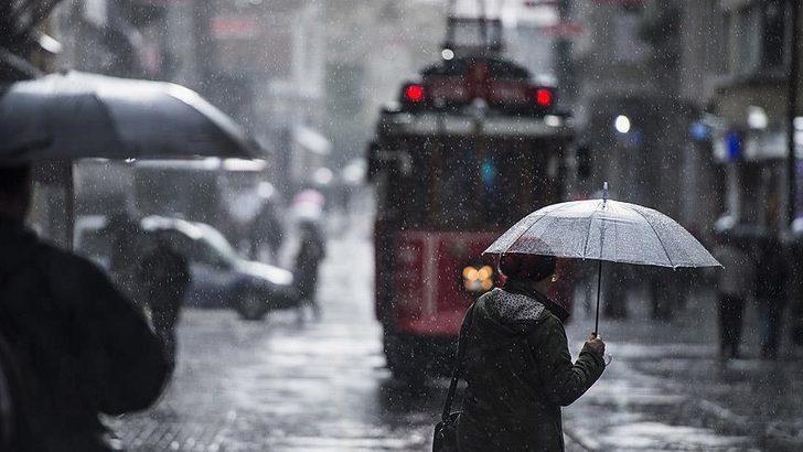 Meteoroloji uyardı! İstanbullular pazar gününe dikkat