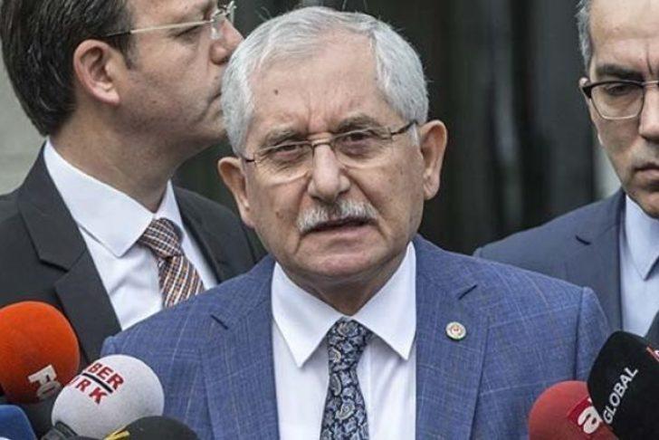 YSK Başkanı Güven, İstanbul seçimi için ret oyunun gerekçesini açıkladı